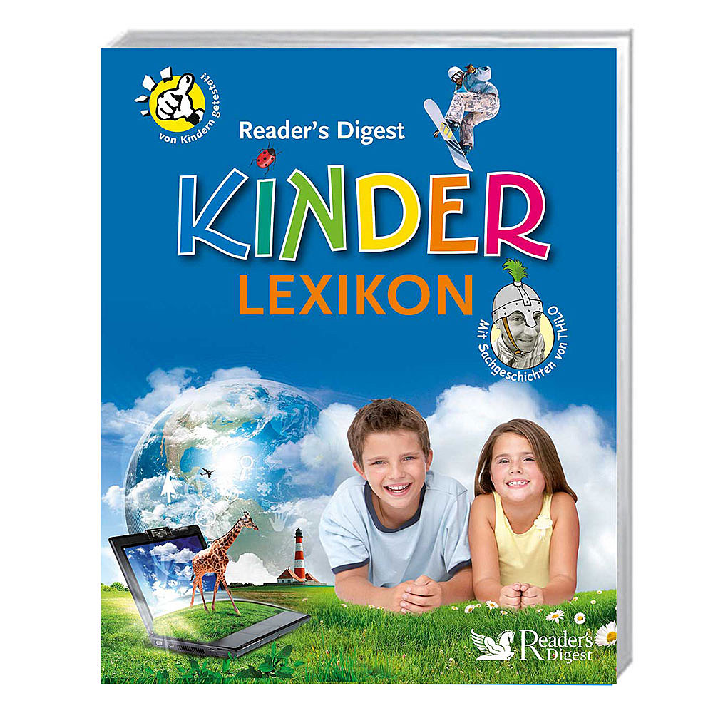 Reader's Digest Kinderlexikon (Buch plus Kinderweltkarte)