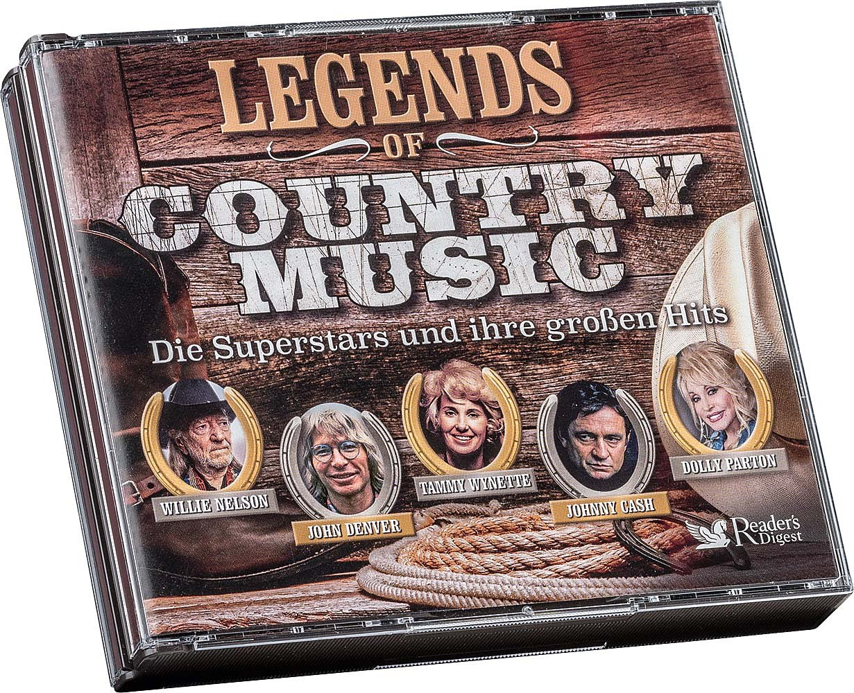Legends Of Country Music - Musik Bücher & Unterhaltung - Reader\'s ...