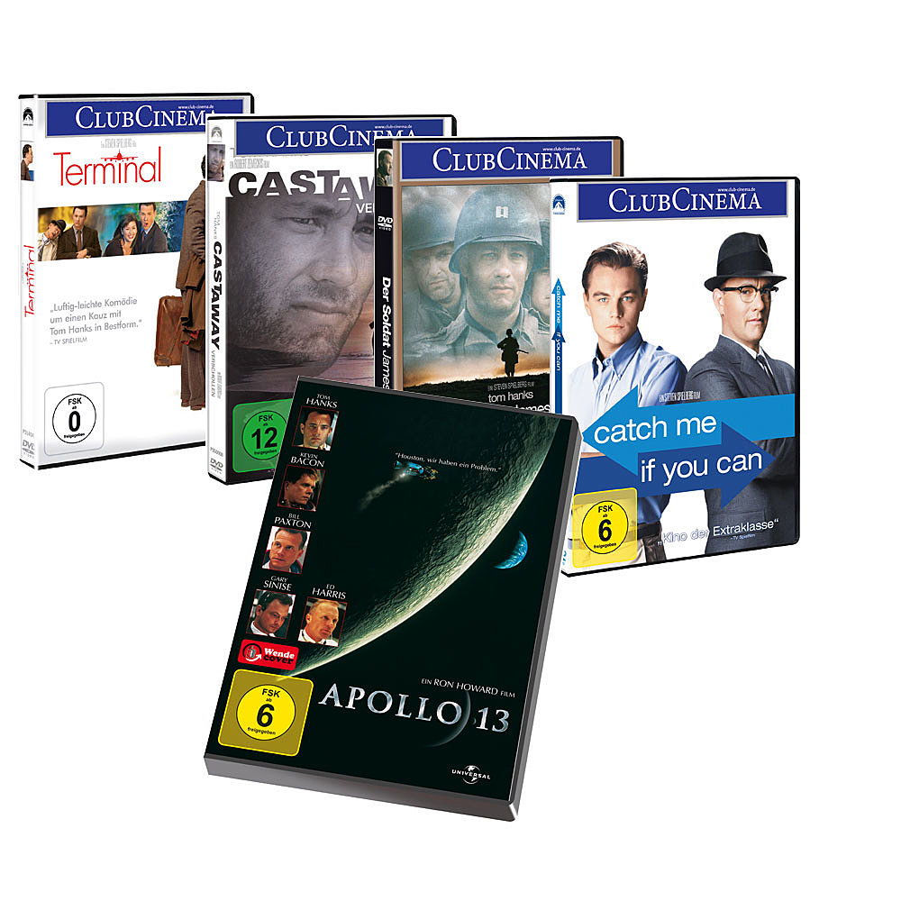 Tom Hanks-Edition (5 DVDs)