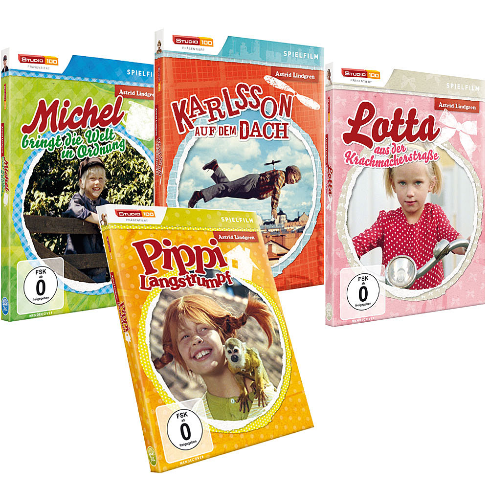 Best Of Astrid Lindgren (4 DVDs)