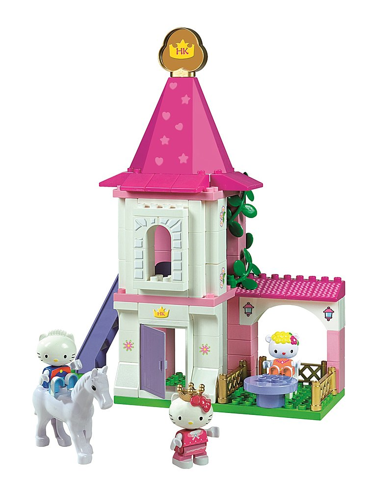 Hello Kitty Princess Turm von PlayBIG BLOXX, 89 tlg.