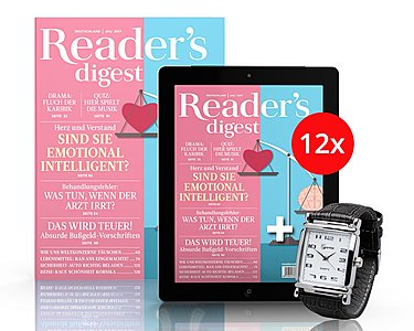 Reader´s Digest - Print-Plus-Jahresabo