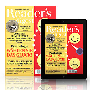 Reader´s Digest Magazin - Print-Plus-Jahresabo ...